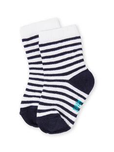 paire de chaussettes layette garçon LYUJOSCHO3 / 21SI1042SOQ713