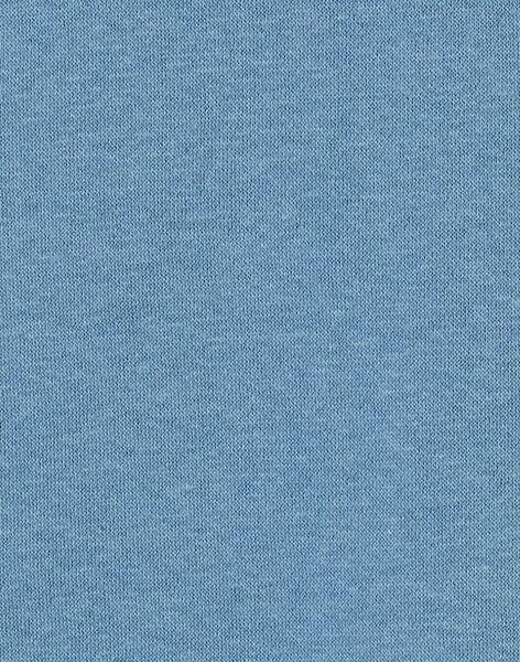 Sweat col montant bleu garçon KOBOSWE / 20W902N1SWEC233
