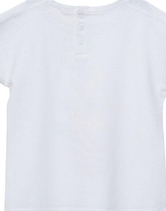 Tee Shirt Manches Courtes Ecru JAVITI / 20S901D1TMC001