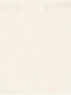 Cardigan doré en tricot et lurex layette fille GINOCAR2 / 19WG09V2CAR954