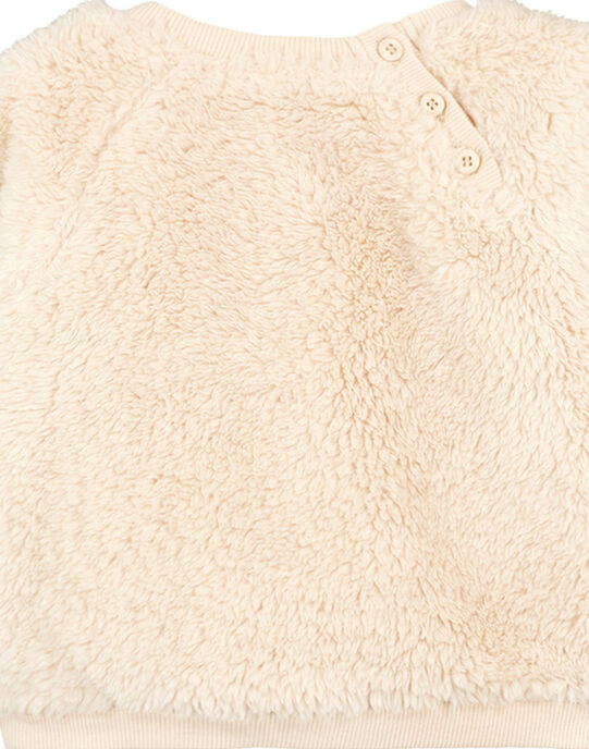 Sweat Shirt Ecru GUMUSWE / 19WG10F1SWE009