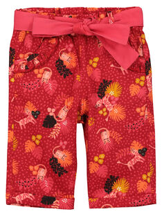 Pantalon fantaisie bébé fille FIBAPAN / 19SG0961PAN511
