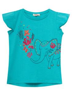 T-shirt manche courte, imprimé éléphant  JABOTI3 / 20S901H2TMC209