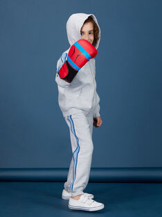 Jogging garçon basique gris chine.  KOJOJOB3 / 20W90252D2A943