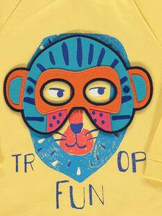 Sweat à masques garçon COFRISWE / 18S902H1SWMB102