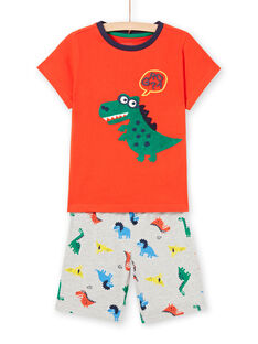 Pyjama phosphorescent à motif dinosaure enfant garçon LEGOPYCDINO / 21SH12C1PYJ409