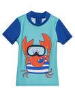 Tee-Shirt anti-uv Turquoise JYOMERUVTICRA / 20SI02K2TUV209