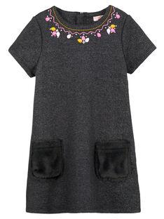 robe molleton doublée fausse fourrure GABLAROB1 / 19W901S2ROBJ912