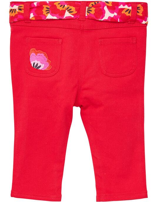 Pantalon Rouge JIVIPAN / 20SG09D1PAN330