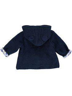 Veste à capuche bébé fille CIKLEVESTE / 18SG09D1VES070