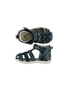 Sandale ville cuir flex bébé garçon FBGSANDFLEX / 19SK38C1D0E070