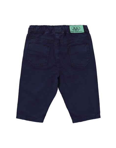 Pantalon taille élastiquée bébé garçon FUJOPAN4 / 19SG1034PAN713