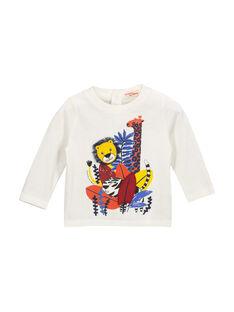 Tee-shirt manches longues bébé garçon FUBATEE1 / 19SG1061TML001