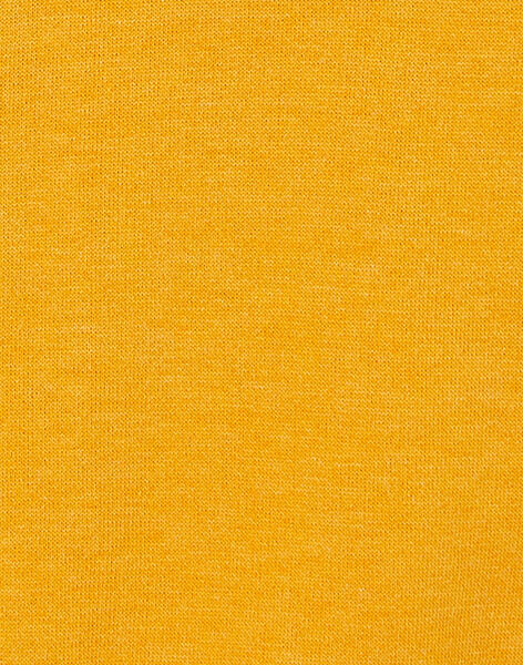 Sweat moutarde enfant garçcon KOBRISWE2 / 20W902F1D5EB118