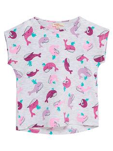 T-shirt manche courte, imprimé baleine JAJOTI8 / 20S901T1D31J920