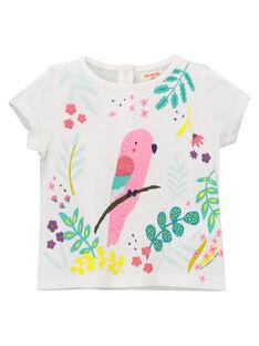 Tee-shirt fantaisie bébé fille FICATI / 19SG09D1TMC000