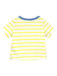 Tee-shirt manches courtes bébé garçon FUCUTI3 / 19SG10N3TMC099