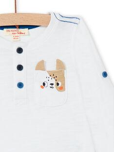 Tee Shirt Manches Longues Blanc LUJOTUN2 / 21SG1035TML000