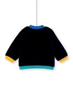 Veste de jogging bleu marine bébé garçon KULUGIL2 / 20WG10P2GILC205