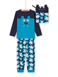Pyjama Bleu marine MEGOPYJMAN2 / 21WH1271PYG705