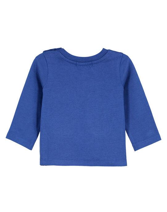 Tee Shirt Manches Longues Bleu GUTRITEE2 / 19WG10J1TMLC221