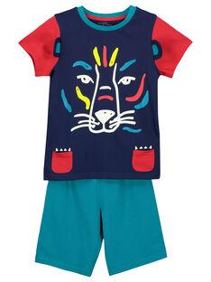 Pyjama short garçon FEGOPYCLION / 19SH12H4PYJ070
