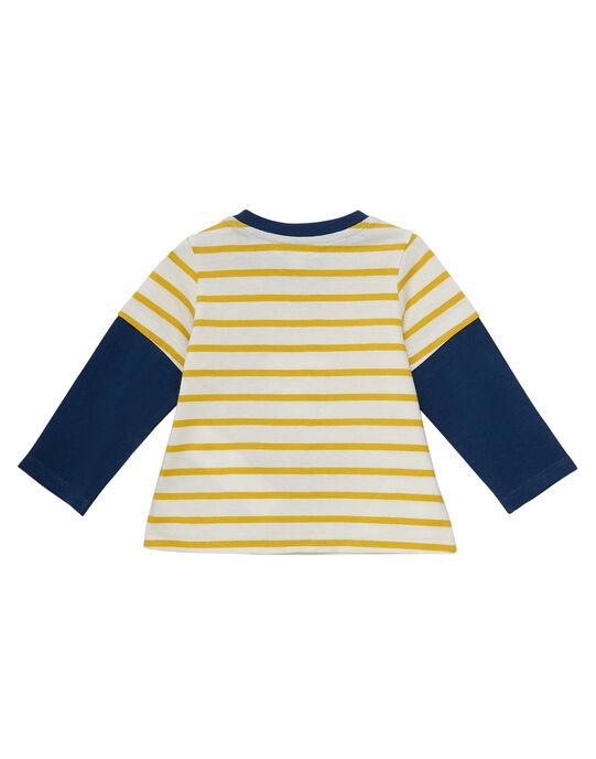 Tee Shirt Manches Longues Ecru JUTROTEE / 20SG10F1TML001