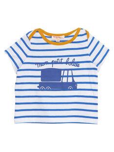 Tee Shirt Manches Courtes Bleu JUJOTI2 / 20SG10T2TMCC201