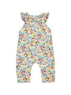 Combinaison bébé fille DINAUCOMB / 18WG09G1SAL099