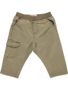 Pantalon bébé garçon CUJOPAN6B / 18SG10R7PAN633