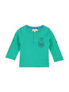 Tee-shirt col tunisien bébé garçon FUJOTUN4 / 19SG1034TML630