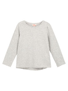 Tee Shirt Manches Longues Gris chiné GAESTEE3 / 19W901U3D32943