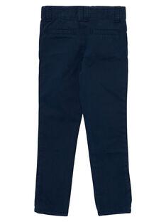 Pantalon chino garçon marine JOJOPACHI2 / 20S90242D2B705