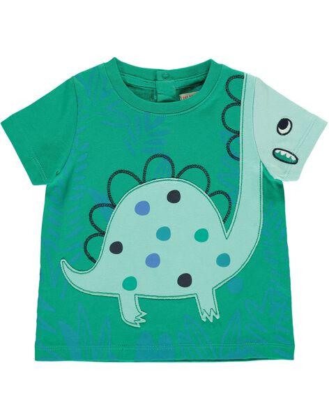 Tee-shirt manches courtes bébé garçon CUDOUTI3 / 18SG10J3TMC613
