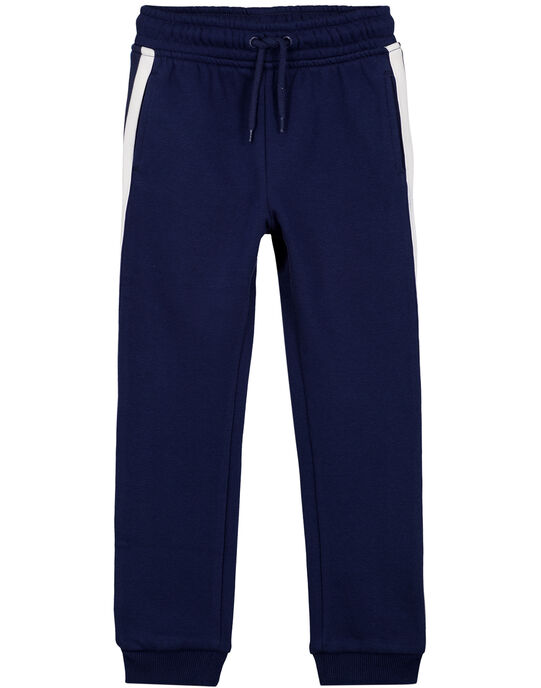 Pantalon de Jogging Marine GOJOJOB1 / 19W90233D2A070