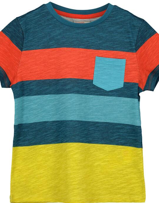 Tee-shirt rayé garçon FOCUTI6 / 19S902N1TMC715