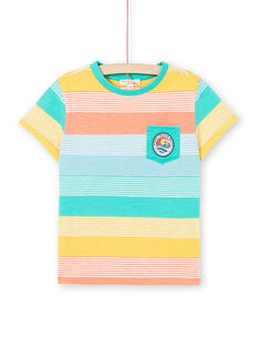 Tee Shirt Manches Courtes Vert LOBONTI4 / 21S902W4TMC600