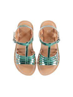 Sandales Turquoise JFSANDOLIT / 20SK35ZED0E202