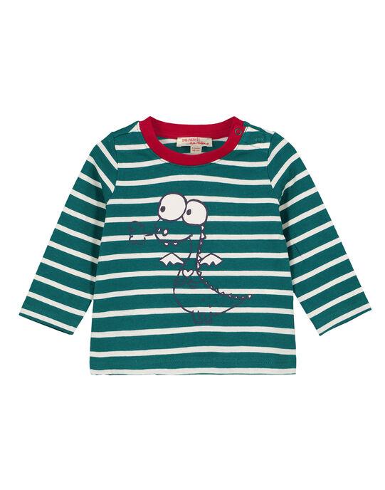 Tee Shirt Manches Longues Vert  GUJOTIRAY1 / 19WG1045TML608