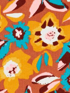 Robe manches courtes, imprimé fleurie KAGOROB1 / 20W901L1ROB420