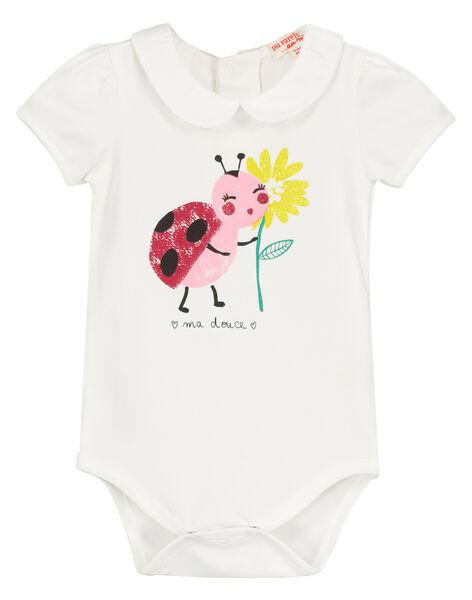 Body en coton bébé fille FIYEBOD / 19SG09M1BOD000