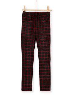 Pantalon en milano à carreaux  KAJOMIL4 / 20W90156D2B944