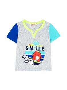 Tee Shirt Manches Courtes Gris JUQUATI2 / 20SG10R2TMCJ906