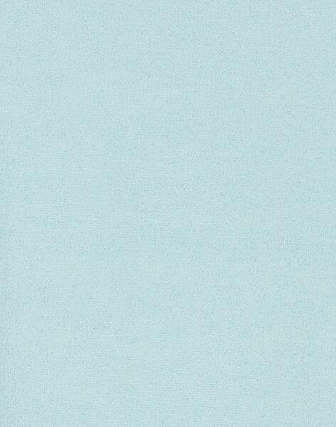 Sweat fourré, manche longue et petit renard brodé avec sequin et fausse fourrure KABOSWEA / 20W901N1SWE201