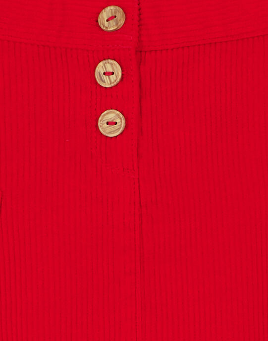 Jupe Rouge GASANJUP2 / 19W901C2JUP050