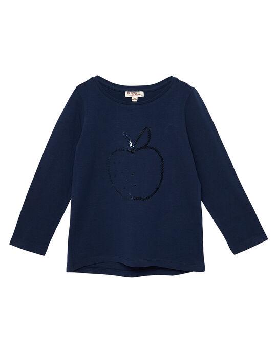 Tee Shirt Manches Longues Bleu marine JAJOTEE1 / 20S90143D32070