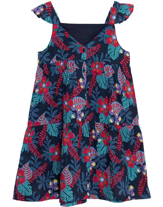 Robe à bretelles volantée, imprimé fleurie  JAJOSROB6 / 20S901T6ROB070