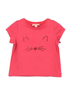 Tee-shirt fantaisie bébé fille FIJOTI2 / 19SG0932TMC308