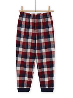 Ensemble pyjama motif voiture à sequins réversibles enfant garçon MEGOPYJSPOR / 21WH1232PYJ080