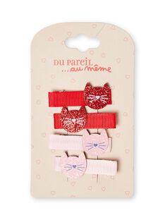Barette Rouge  LYAROUCLIC / 21SI0172BRTF517